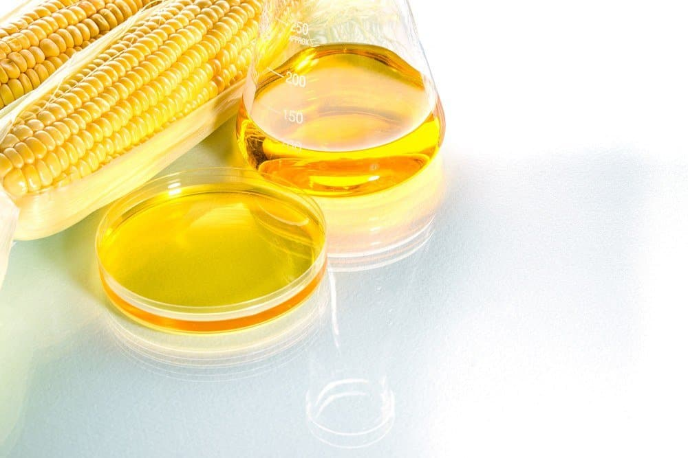 Jarabe de maíz y maíz