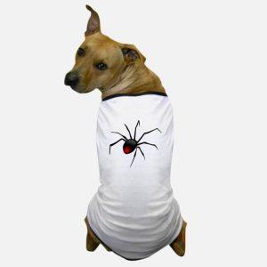 camiseta de perro araña redback