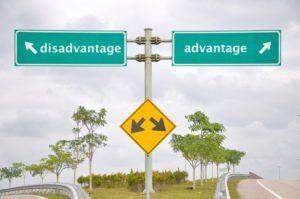 Señalización vial en antónimos carretera desventaja o ventaja.